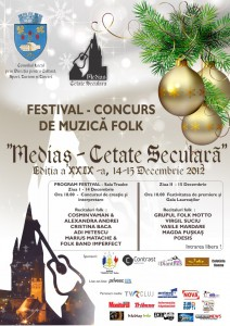 Festivalul de Folk Mediaş - Cetate Seculară